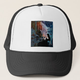 IN HER SHADOW KINGDOM TRUCKER HAT