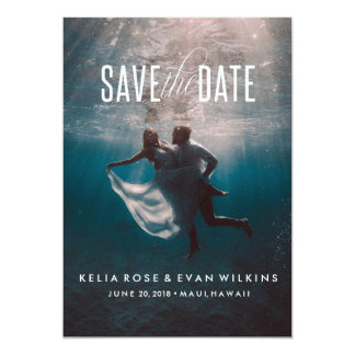 In High Tide or Low Tide Save the Date Card