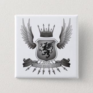 In hoc signo vinces 2 inch square button