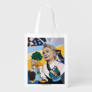 In honor of Hillary Clinton Reusable Grocery Bag