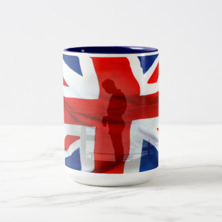 In Honor or all (fallen) Heroes Two-Tone Coffee Mug