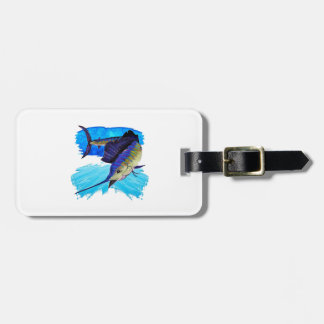IN HOT PURSUIT LUGGAGE TAG