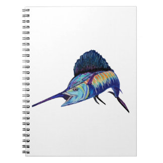 IN HOT PURSUIT SPIRAL NOTEBOOK