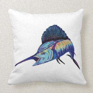 IN HOT PURSUIT THROW PILLOW