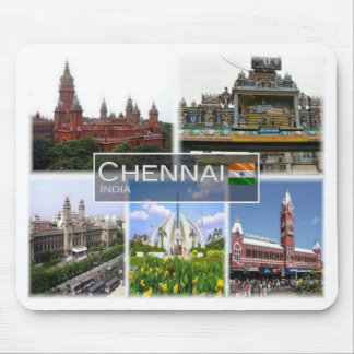 IN India - Chennai - Madras - Mouse Pad