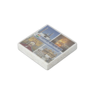 IN India - The Golden Temple Amritsar - Ramgarhia Stone Magnets