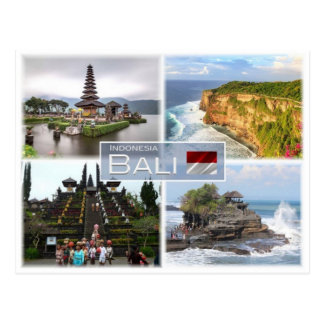 IN Indonesia - Balil - Postcard