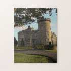 In Ireland, the Dromoland Castle side entrance Jigsaw Puzzle