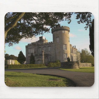In Ireland, the Dromoland Castle side entrance Mouse Pad