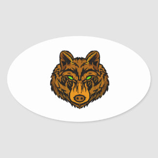 IN ITS VISION OVAL STICKER