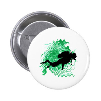 IN JADE WATERS 2 INCH ROUND BUTTON