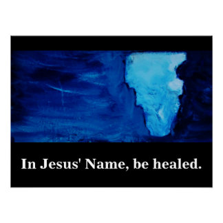 IN JESUS' NAME POSTER