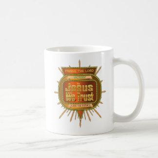 In  Jesus We Trust Victory Design Coffee Mug