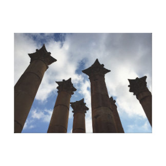 In Jordan, Looking to the Sky Canvas Print