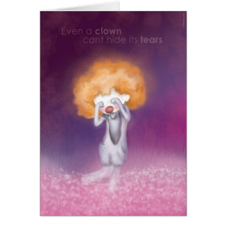 In know you are sad card