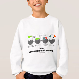 In Life, Are You The Enzyme Or The Substrate? Sweatshirt