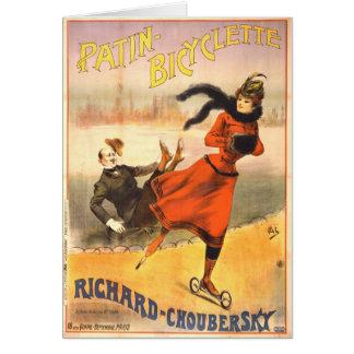 In-Line Skates 1890 Card