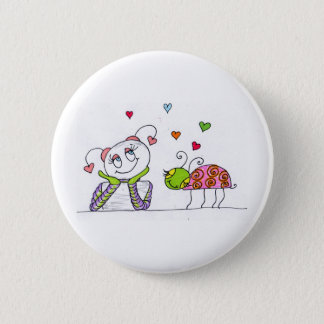In Love 2 Inch Round Button