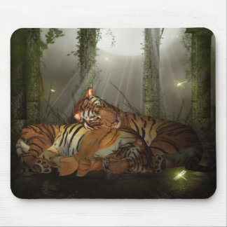In Love, Chinese Year Of The Tiger Mousepad