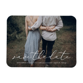 In Love Save the Date Magnet