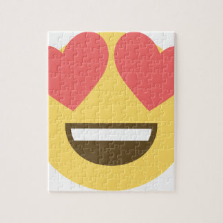In love smiley emoji jigsaw puzzle