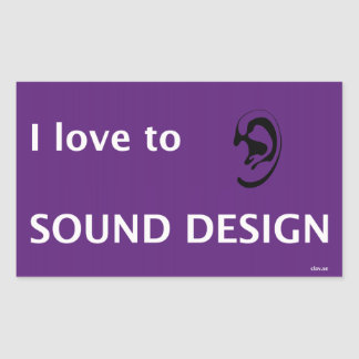In love to sounds design