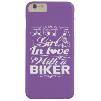 In love with a Biker Barely There iPhone 6 Plus Case