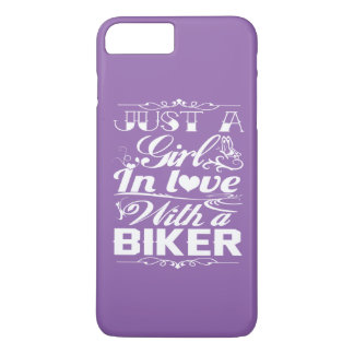 In love with a Biker iPhone 7 Plus Case