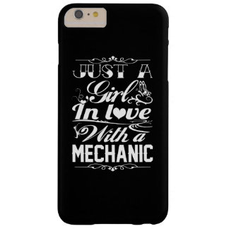 In love with a Mechanic Barely There iPhone 6 Plus Case