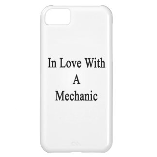 In Love With A Mechanic iPhone 5C Covers