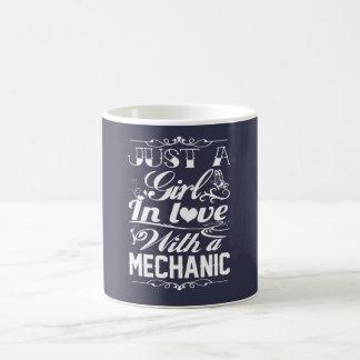 In love with a Mechanic Coffee Mug