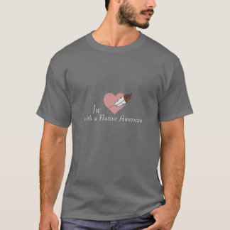 In Love with a Native American Men's T-Shirt