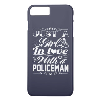 In love with a Policeman iPhone 7 Plus Case