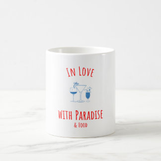 In Love With Paradise Coffee Mug