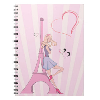 In Love With Paris  Notebook