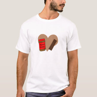 In love with Peanut Butter and Chocolate T-Shirt