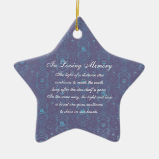 In Loving Memory America Uncle Sam Hats Death Memo Ceramic Ornament