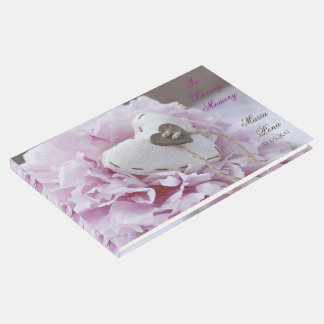 In Loving Memory Guest Book: Funeral Guest Book