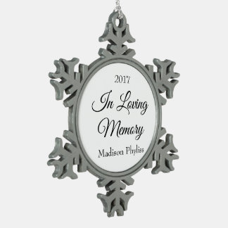 In Loving Memory Holiday Ornament