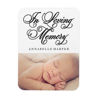 In Loving Memory | Memorial Magnet