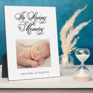 In Loving Memory | Memorial Plaque