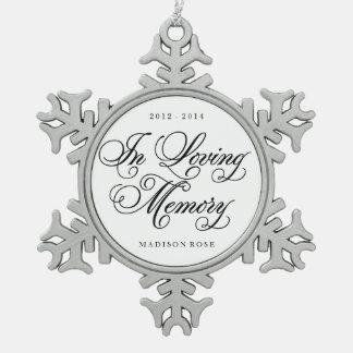 In Loving Memory | Ornament Keepsake