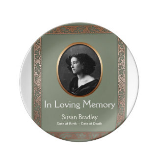 In Loving Memory Personalized Memorial Plate 1