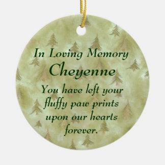 In Loving Memory Pet Memorial Ornament