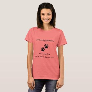 In loving memory - pet T-Shirt