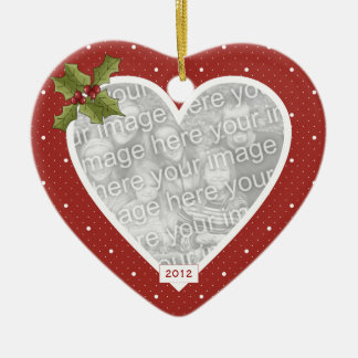 In Loving Memory Red Heart Ornament