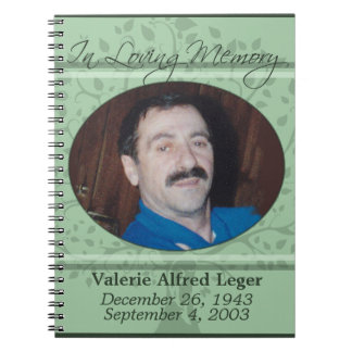 In Loving Memory / Remembrance Custom Guest book