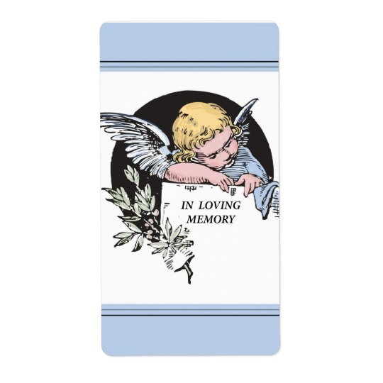 In Loving Memory Vintage Angel, Remembrance on Blu