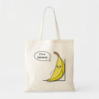 In ' m a banana! budget tote bag