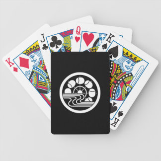 In medium flower in water hammer car bicycle playing cards